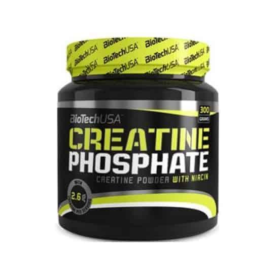 H CREATINE PHOSPHATE 300gr είναι εμπλουτισμένη με Νιασίνη
