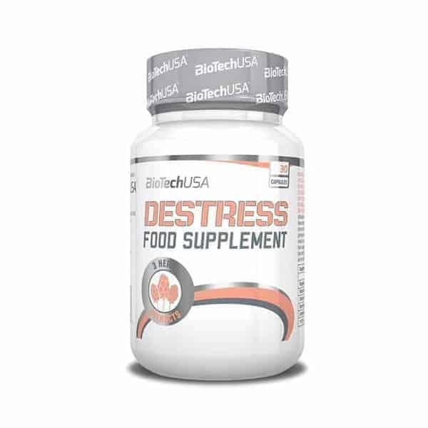 Το DESTRESS 30 caps είναι ένα συνθετο προϊον με ενα συνδυασμο απο 3 φυτικα εκχυλισματα
