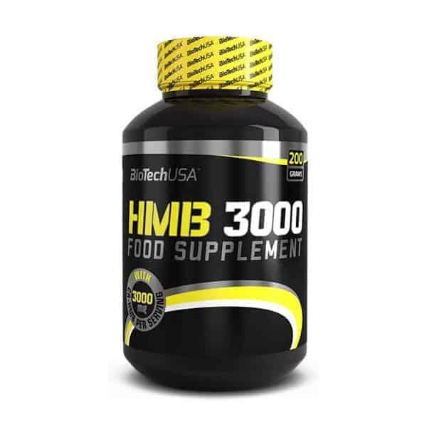 Η HMB 3000 200grσε μια δόση του περιέχει 3.000 mg