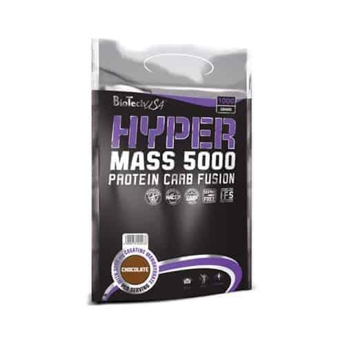 Το HYPER MASS 5000 1000gr είναι η τέλεια λύση, για αθλητές οι οποίοι μόλις ξεκίνησαν και επιθυμούν να συμπληρώσουν την καθημερινή τους διατροφή