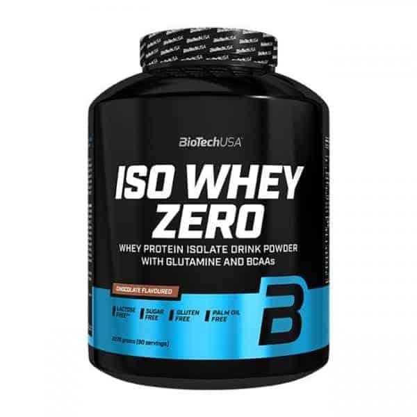 Η ISO WHEY ZERO 2270gr είναι παρασκευασμένη με τη καθαρότερη δυνατή πρωτεΐνη ορού γάλακτος isolate