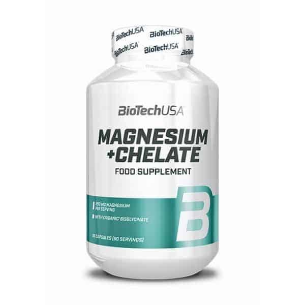 Το Magnesium + Chelate 250mg 60 Κάψουλες BIOTECHεμπεριέχει μαγνήσιο το οποίο εμπλέκεται στο νευρικό σύστημα, το σκελετό, τους μυς, την καρδιά και τη λειτουργία των κυττάρων