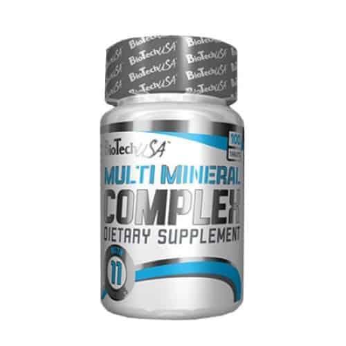 Οι MULTI MINERAL COMPLEX 100tabs παρέχει διατροφική υποστήριξη για μια ομαλή ανάπτυξη των οστών, μυϊκή λειτουργία, αναπαραγωγή και μεταβολισμό.