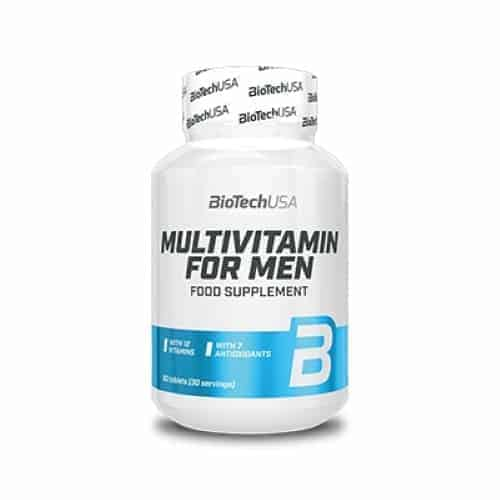 Το MULTIVITAMIN FOR MEN 60tabsείναι μια πολυβιταμίνη για άντρες της BioTech USA