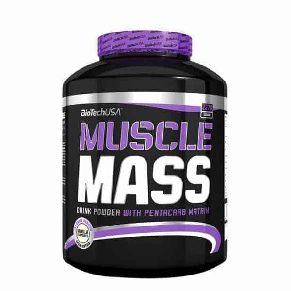 Tο MUSCLE MASS 2270grπεριέχει το συμπλεγμα πρωτεΐνών Mega Matrixμε 11 διαφορετικές πρωτεΐνες.