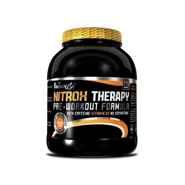 Το NITROX THERAPY 340gr είναι ένα πολύ ισχυρό συμπλήρωμα για πριν την προπόνηση