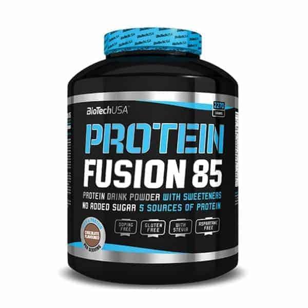 Η PROTEIN FUSION 85 2270gr είναι ένα προϊόν πλούσιο σε πρωτεΐνη, χωρίς γλουτένη