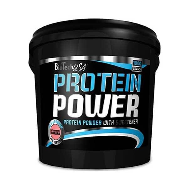 Η PROTEIN POWER 1000gr είναι μια απίθανη σκόνη πρωτεΐνης για αφοσιωμένους αθλητές