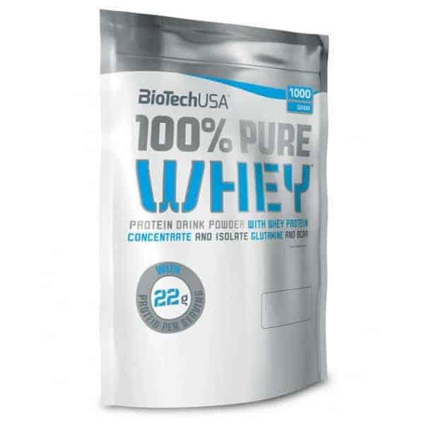 H PURE WHEY 100% 1000gr BIOTECH USA έρχεται με υψηλής ποιότητας θρεπτικά συστατικά
