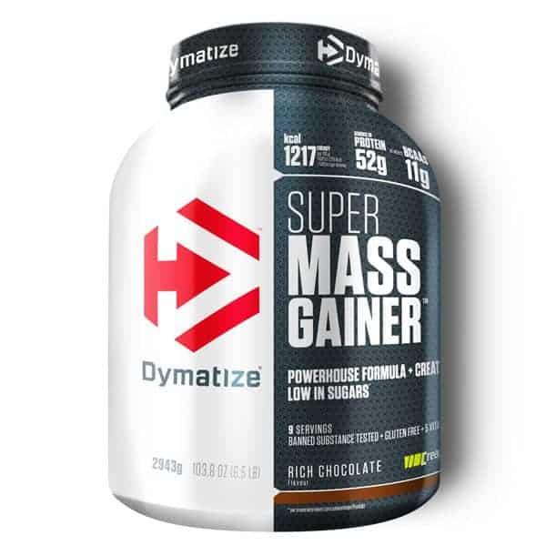 Το SUPER MASS GAINER 2943gr DYMATIZE είναι ηη καλύτερη πρωτείνη όγκου εμπλουτισμένη με BCAA αμινοξέα, με γλουταμίνη με άριστη διαλυτότητα και τέλεια γεύση