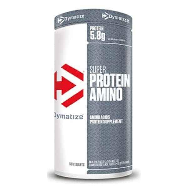 Τα SUPER PROTEIN AMINO 501 tabs DYMATIZEκατασκευάζονται από υψηλής ποιότητας πρωτείνη