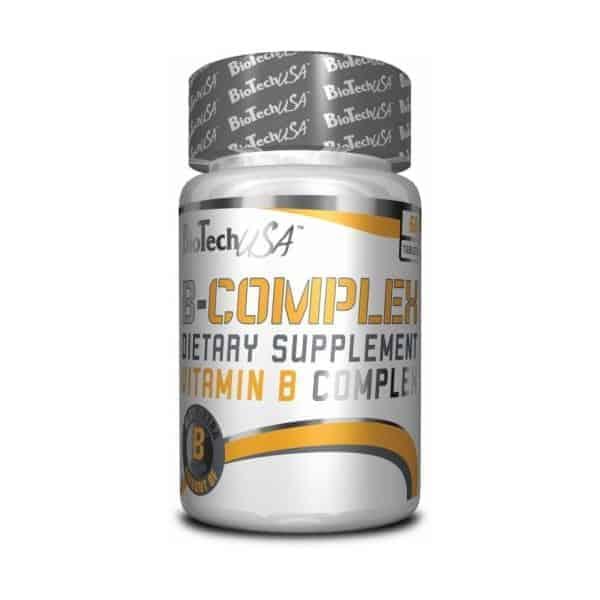 Η VITAMIN B COMPLEX 60tabsείναι ένα ισορροπημένο σύμπλεγμα βιταμινών Β το οποίο παρέχει οχτώ βασικές βιταμίνες Β μαζί με άλλες βιταμίνες, μέταλλα, αντιοξειδωτικά και βότανα.