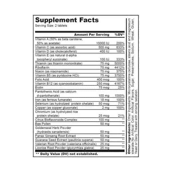 vitamin b complex 60tabs biotech usa