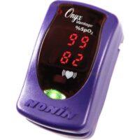 Το οξύμετρο Δακτύλου Nonin Onyx Vantage 9590 Μωβ, προσφέρει γρήγορη και αξιόπιστη μέτρηση του κορεσμού του οξυγόνου του αίματος (SPO2) και των καρδιακών παλμών
