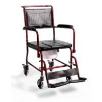 Το Αναπηρικό Αμαξίδιο Τουαλέτας AC-33 Μπορντώ είναι η οικονομική λύση της alfacare για τις καθημερινές σας ανάγκες