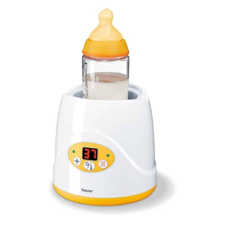 Ο Ψηφιακός Θερμαντήρας βρεφικής τροφής BY 52 είναι κατάλληλος για όλα τα μπιμπερό και βαζάκια φαγητού.